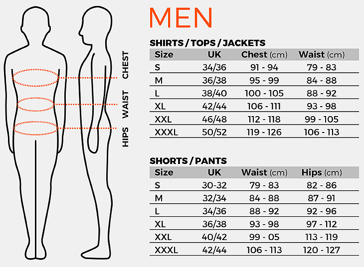 Size Charts Stanno Com