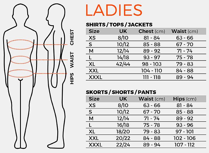 Size charts | Stanno.com