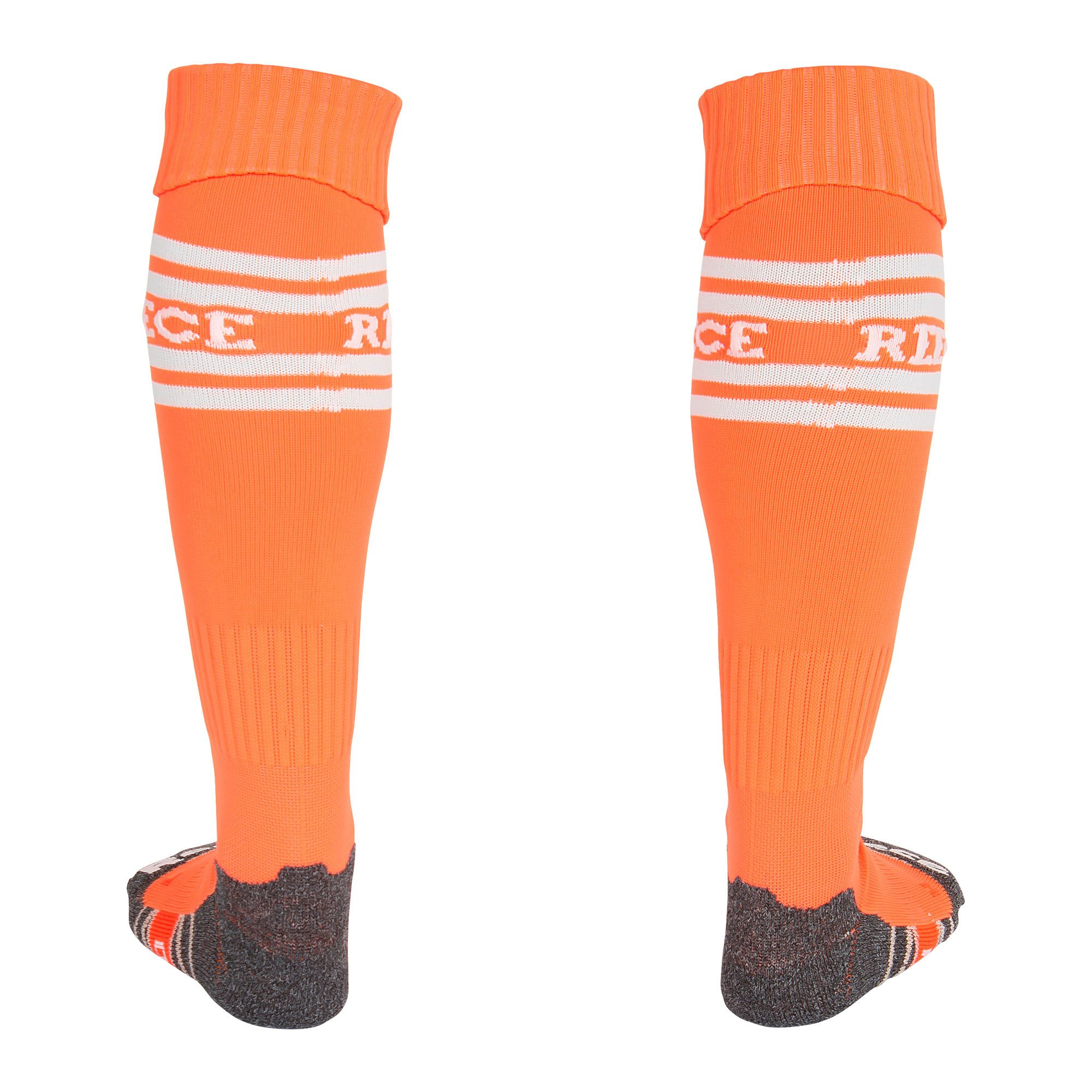 Reece College Stutzenstrumpf Hockey Str/ümpfe neon orange