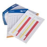 NHV Scorekaart (50 st)