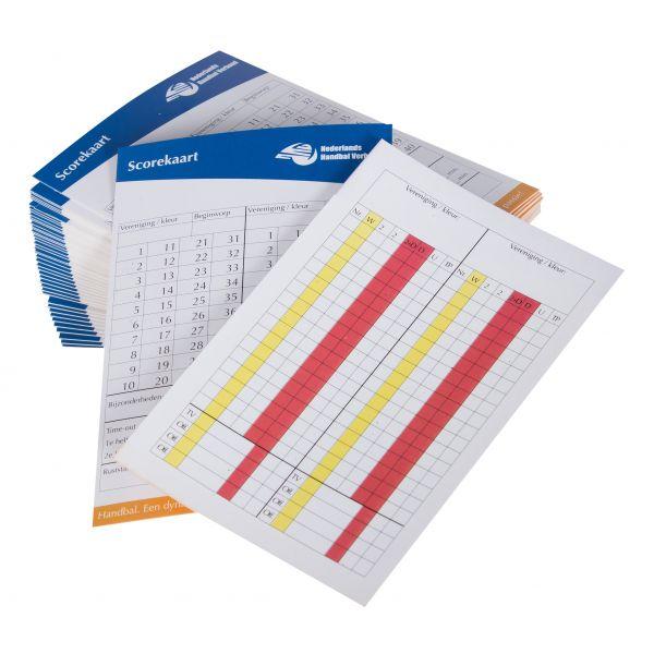 NHV Scorekaart (50 st) hummel